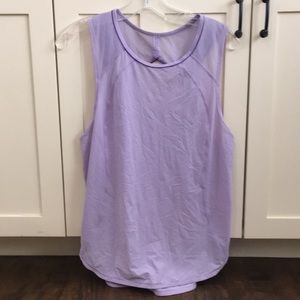 Lululemon light purple sleeveless top sz 8 57011